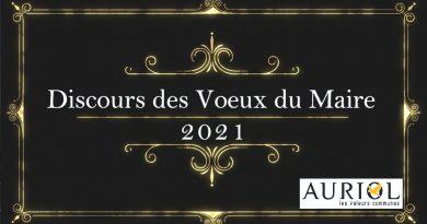 11/01 : Vœux du Maire 2021
