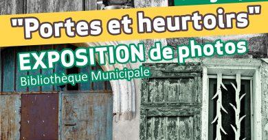 """Exposition de Photos """"Portes et Heurtoirs"""""""