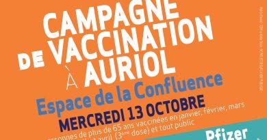 13/10 : Campagne de vaccination