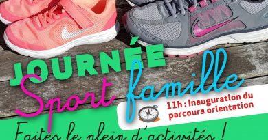 """Journée """"Sport Famille"""""""
